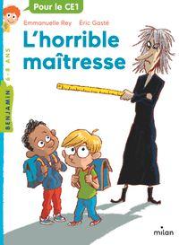 Couverture «L'horrible maîtresse»
