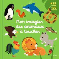 Couverture «Mon grand imagier des animaux à toucher»