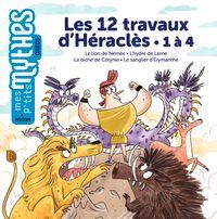 Couverture «Les 12travaux d'Héraclès – 1 à 4»