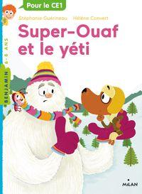 Couverture «Super-Ouaf et le yéti»