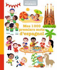 Couverture «Mes 1000premiers mots d'espagnol»