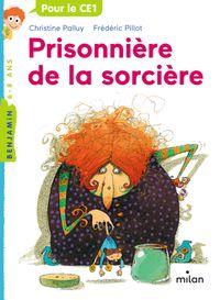 Couverture «Prisonnière de la sorcière»
