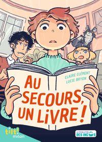 Couverture «Au secours, un livre !»