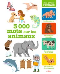 Couverture «3 000 mots sur les animaux»