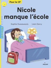 Couverture «Nicole manque l'école»