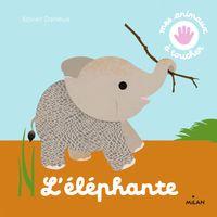 Couverture «L'éléphante»