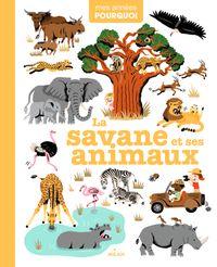 Couverture «La savane et ses animaux»
