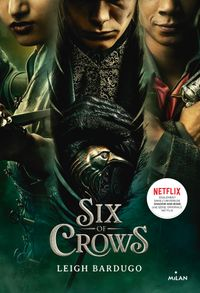 Couverture « Six of crows T1 – NE »