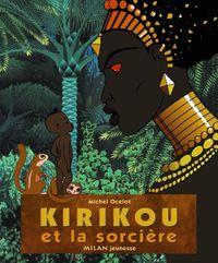 Couverture «Kirikou et la sorcière, mini-album»