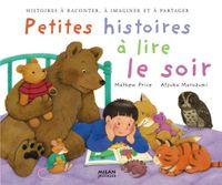 Couverture «Petites histoires à lire le soir»