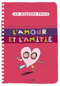 Cover of «L'amour et l'amitié»