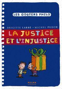 Couverture «La justice et l'injustice»