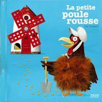 Couverture «La petite poule rousse»