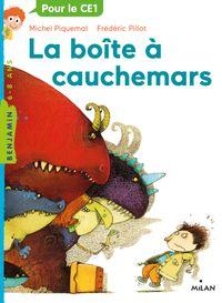 Cover of «La boîte à cauchemars»