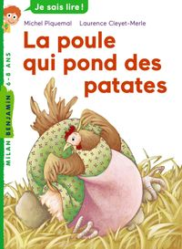 Cover of « La poule qui pond des patates »