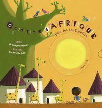 Couverture «Contes d'Afrique pour les tout-petits + CD»
