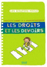Cover of «Les droits et les devoirs»