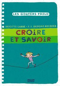 Cover of «Croire et savoir»