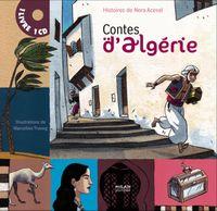 Couverture «Contes d'Algérie + CD»