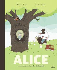 Couverture «Alice racontée aux petits»