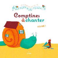 Couverture «Comptines à chanter, vol. 1 + CD»