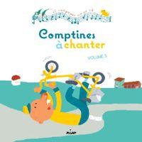 Couverture «Comptines à chanter, vol. 3 + CD»