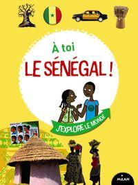 Couverture «À toi le Sénégal !»