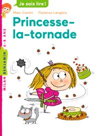Cover of « Princesse la tornade »