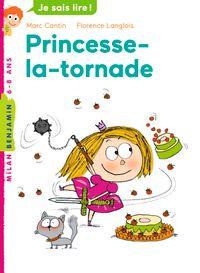 Couverture «Princesse la tornade»