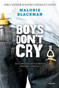 Couverture « Boys don't cry »