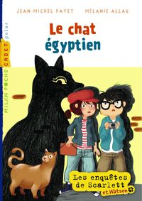 Cover of « Le chat égyptien »