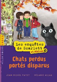 Couverture « Chats perdus portés disparus »