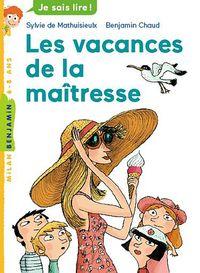 Cover of «Les vacances de la maîtresse»