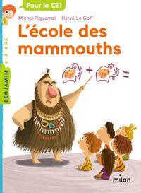 Cover of «L'école des mammouths»