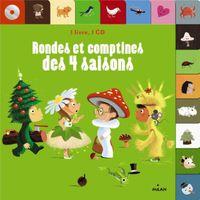 Couverture «Rondes et comptines des 4 saisons + CD»