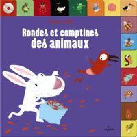 Couverture «Rondes et comptines des animaux + CD»