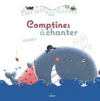 Couverture «Comptines à chanter, vol. 2 + CD»