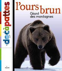 Couverture «L'ours brun»