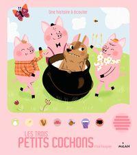 Couverture «Les trois petits cochons»