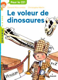 Cover of « Le voleur de dinosaures »