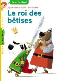 Cover of «Le roi des bêtises»