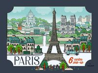 Couverture « Cartes pop-up Paris »