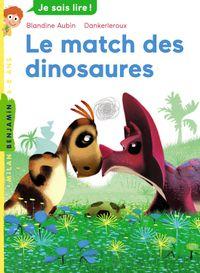 Couverture «Le match des dinosaures»