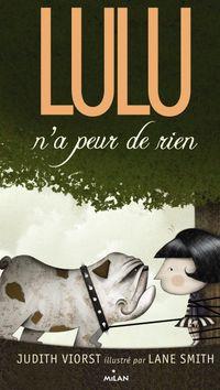 Couverture «Lulu n'a peur de rien»