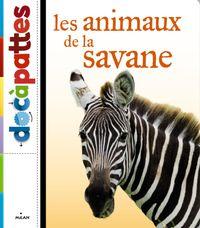 Couverture «Les animaux de la savane»