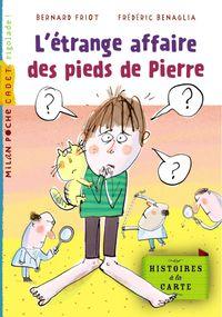 Couverture «L'étrange affaire des pieds de Pierre»