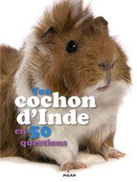 Couverture «Ton cochon d'Inde en 50 questions»