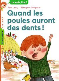 Couverture «Quand les poules auront des dents»