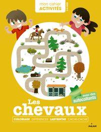 Cover of «Mon cahier d'activités – Poneys et chevaux»