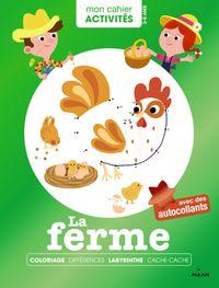 Cover of «Mon cahier d'activités – La ferme»